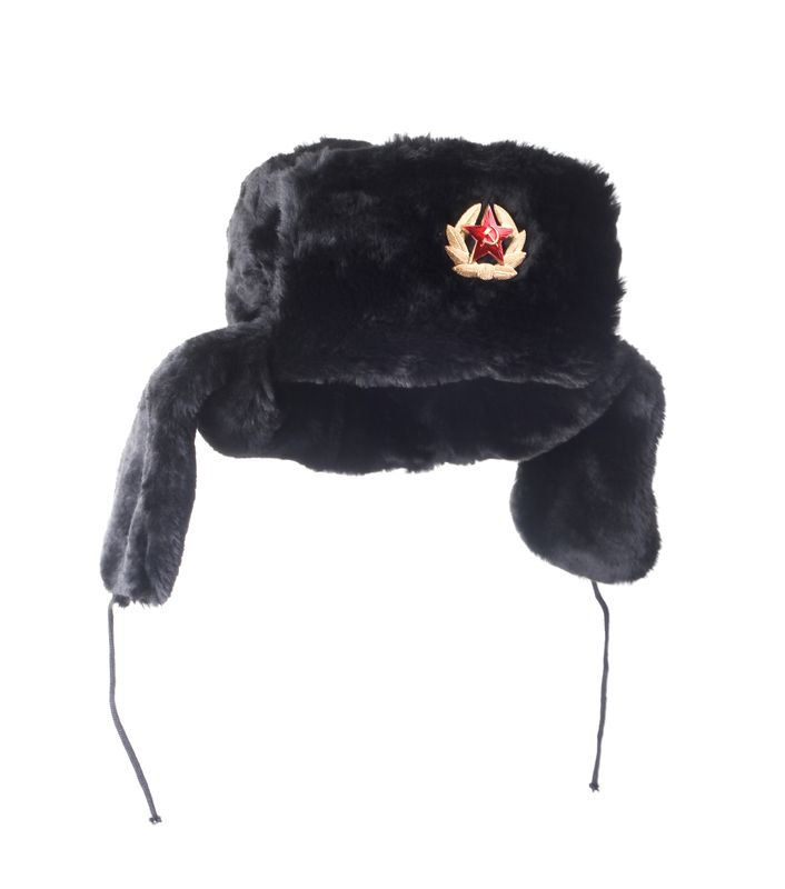 Шапка ушанка, искусственный мех. Зимняя шапка ушанка из мягкого...